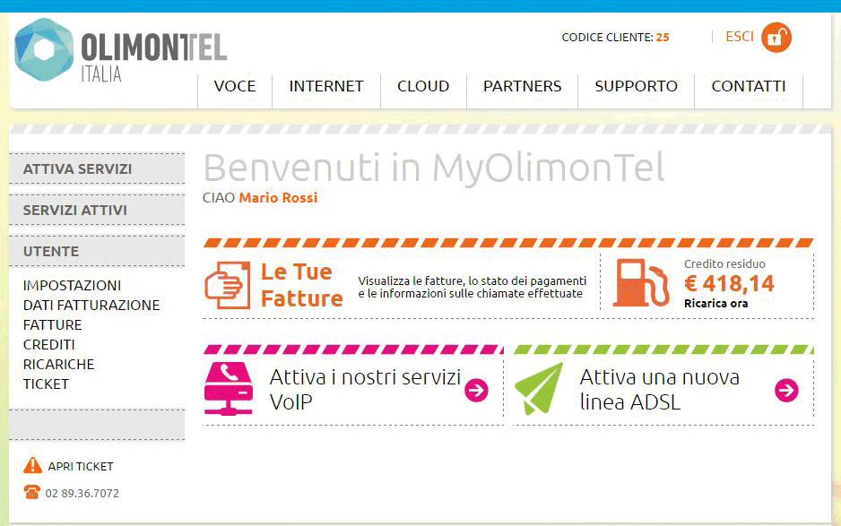 utente myolimontel