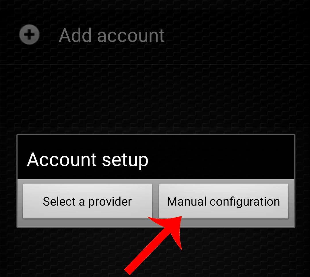 zoiper aggiungi account manuale