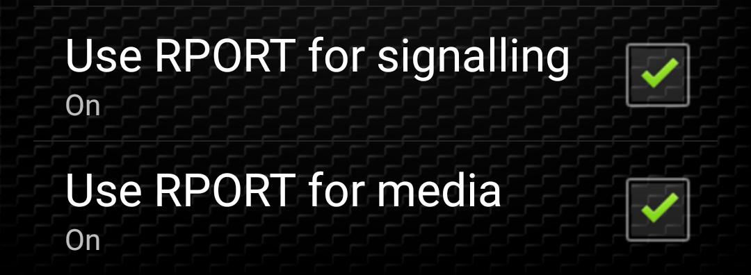 zoiper rport media